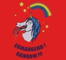 ERMAHGERD RAINBOW! by maggiepuffle