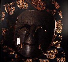 Noh Theatre masks reverse sides by Olshvang Anton