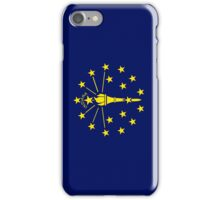 Smartphone Case - State Flag of Indiana - Vertical iPhone Case/Skin