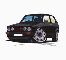 VW Golf GTi (Mk1) Black by Richard Yeomans