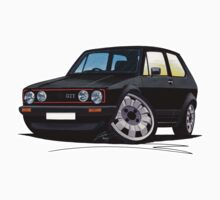 VW Golf GTi (Mk1) Black by Richard Yeomans