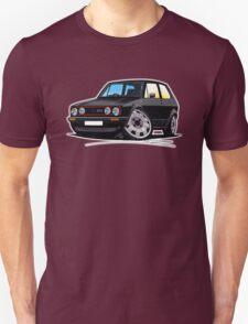 VW Golf GTi (Mk1) Black T-Shirt