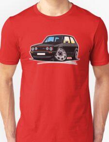 VW Golf GTi (Mk1) Black Unisex T-Shirt