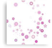 Mandala Flower Breeze Canvas Print