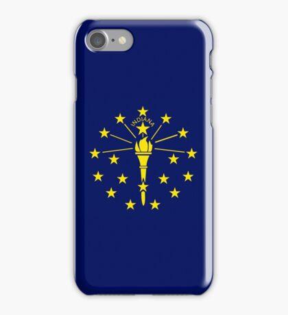 Smartphone Case - State Flag of Indiana - Horizontal iPhone Case/Skin