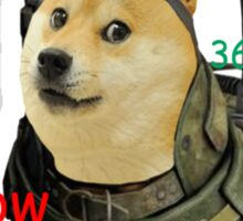 Call of Doge Sticker
