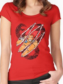 Lion-O Claw Women's Fitted Scoop T-Shirt