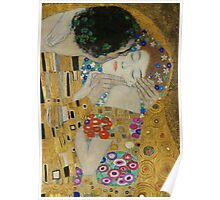 Gustav Klimt - The Kiss (detail) Poster