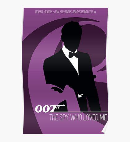 James Bond - The Spy Who Loved Me Poster