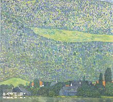 Gustav Klimt - Litzlberg on the Attersee by TilenHrovatic