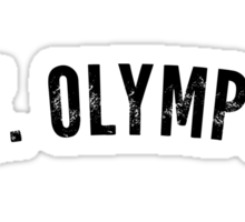 Mt. Olympus Shirt Sticker