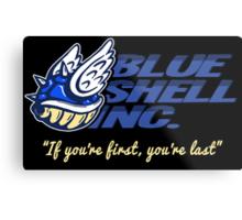 Blue Shell Inc. (no distressing) Metal Print