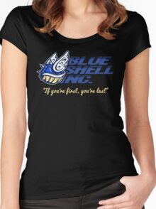 Blue Shell Inc. (no distressing) Women's Fitted Scoop T-Shirt