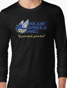 Blue Shell Inc. (no distressing) Long Sleeve T-Shirt
