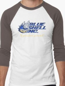 Blue Shell Inc. (no distressing) Men's Baseball ¾ T-Shirt