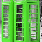 London Telephone Box  by Laura  Cutts