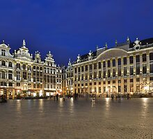 Grand Place by Kasia Nowak