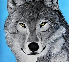 Wolf portrait by maggie326