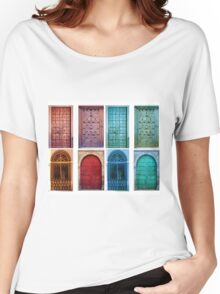 Vintage doors Women's Relaxed Fit T-Shirt