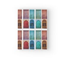 Vintage doors Hardcover Journal