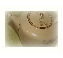Tea Time I Art Print