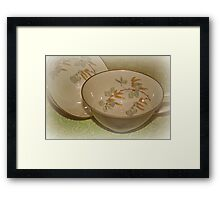 Tea Time II Framed Print
