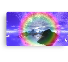 Portal - The Rainbow Connection Canvas Print