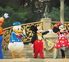 Disney family by Amy McCabe