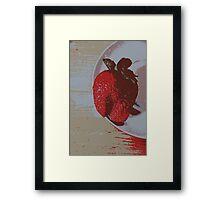 Strawberry Days Framed Print