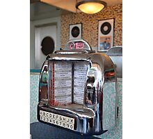Jukebox Time Photographic Print