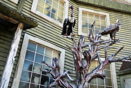 Spooky Mansion by BirgitHM