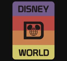 Retro Strap Disney World by AngrySaint