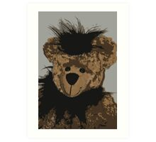 Beary Happy Art Print