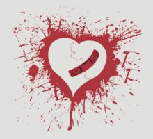 Emo Graffit Heart Valentines by CarbonClothing