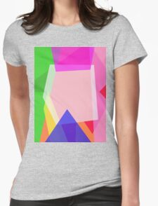 Minimalism Contrast Womens Fitted T-Shirt