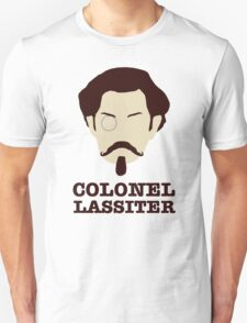 Psych - Colonel Carlton Lassiter: Civil War Buff Unisex T-Shirt