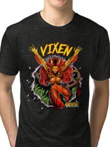 SheVibe Vixen Logo Tri-blend T-Shirt