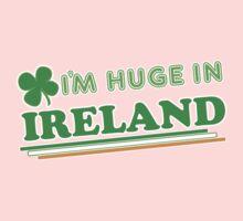 Im Huge In Ireland St Patricks Day One Piece - Short Sleeve