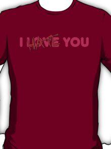 I Hate You Anti Valentines T-Shirt