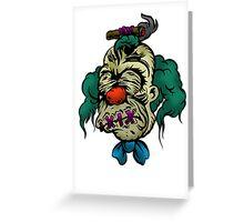 Shrunken Krusty Greeting Card
