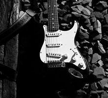 Stratocaster Guitar by gordonpowles