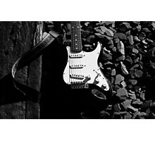 Stratocaster Guitar Photographic Print