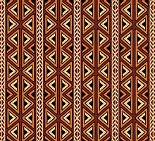 Africa Art Design Texture Pattern by BluedarkArt