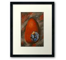 Comsic Egg Framed Print