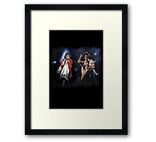 Keith and Mick Framed Print