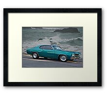 1970 Chevrolet Chevelle Framed Print