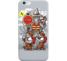 Hobbit Crossing, you shall not pass iPhone Case/Skin