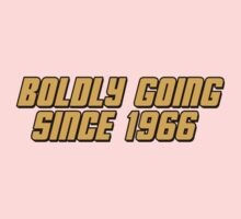 Boldly Going Since 1966 Kids Tee