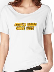 Boldly Going Since 1966 Women's Relaxed Fit T-Shirt