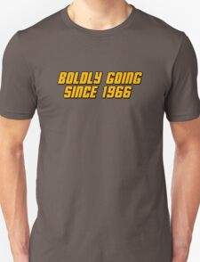 Boldly Going Since 1966 T-Shirt